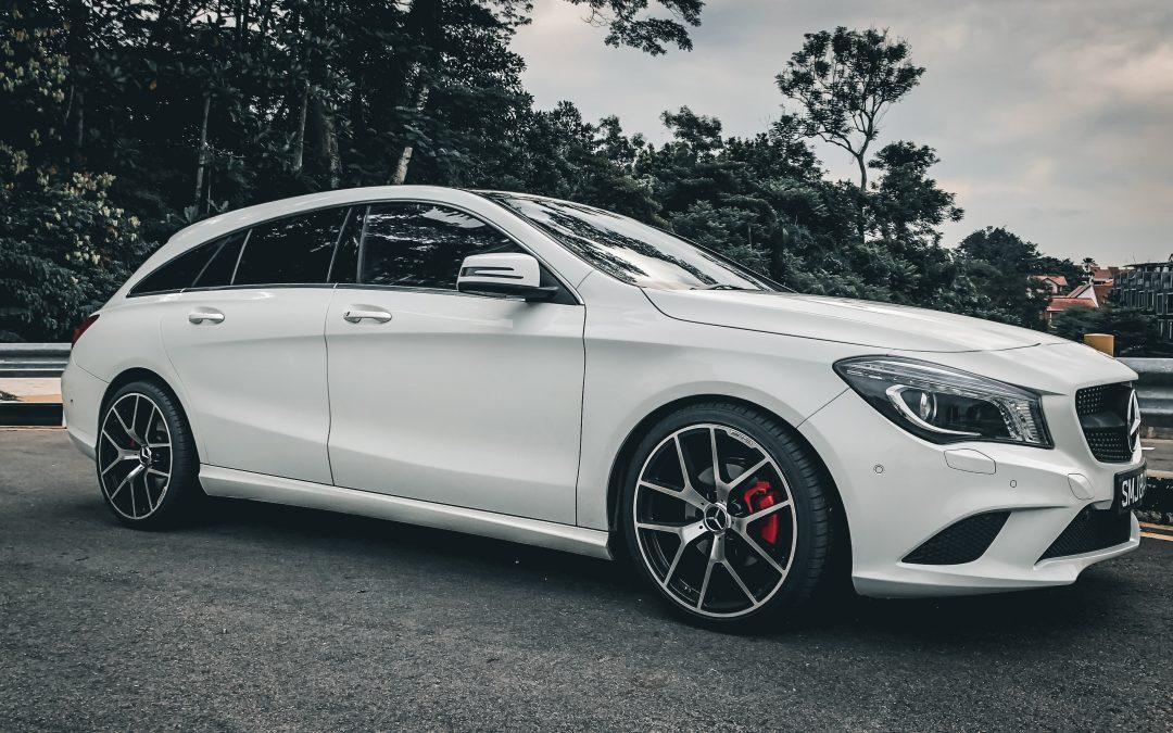En Mercedes er det perfekte visitkort